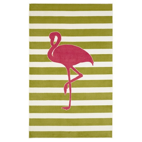 Mohawk Fancy Flamingo Area Rug - Hot Pink (5'x8') - image 1 of 3