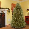 6.5ft National Christmas Tree Company Pre-Lit Dunhill Fir Artificial Christmas Tree with 600 Dual Color LED Lights & Powerconnect - image 3 of 4