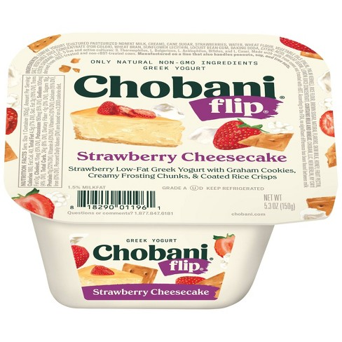Chobani Flip Strawberry Cheesecake Greek Style Yogurt - 5.3oz - image 1 of 2