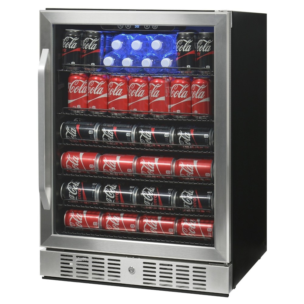 NewAir 177 Can Beverage Cooler – Stainless Steel (Silver) Abr-1770 52510888