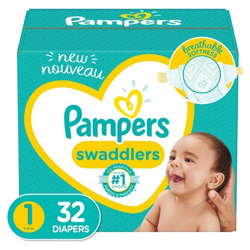 Pampers Swaddlers Diapers - (Select Size and Count) - image 1 of 4