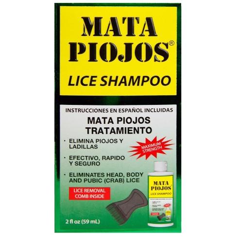 Mata Piojos Medicated Shampoo - 2 fl oz - image 1 of 1