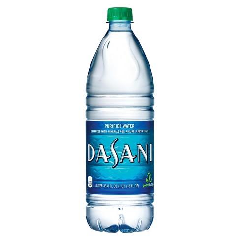 Dasani Purified Water - 1 L Bottle - image 1 of 3