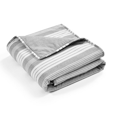 """50""""x60"""" Farmhouse Yarn Dyed Plaid Throw Blanket - Lush Décor"""