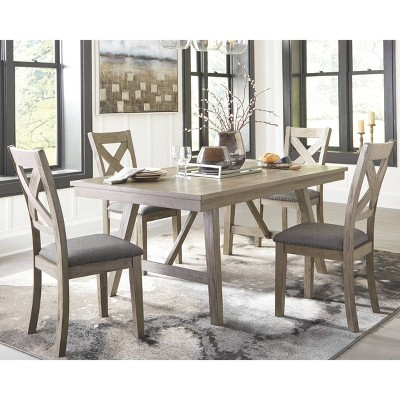Exceptionnel Aldwin Rectangular Dining Room Table Dark Gray   Signature Design By Ashley