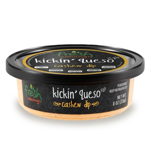 Fresh Cravings Kickin' Queso Style Cashew Dip - 8oz - image 1 of 4