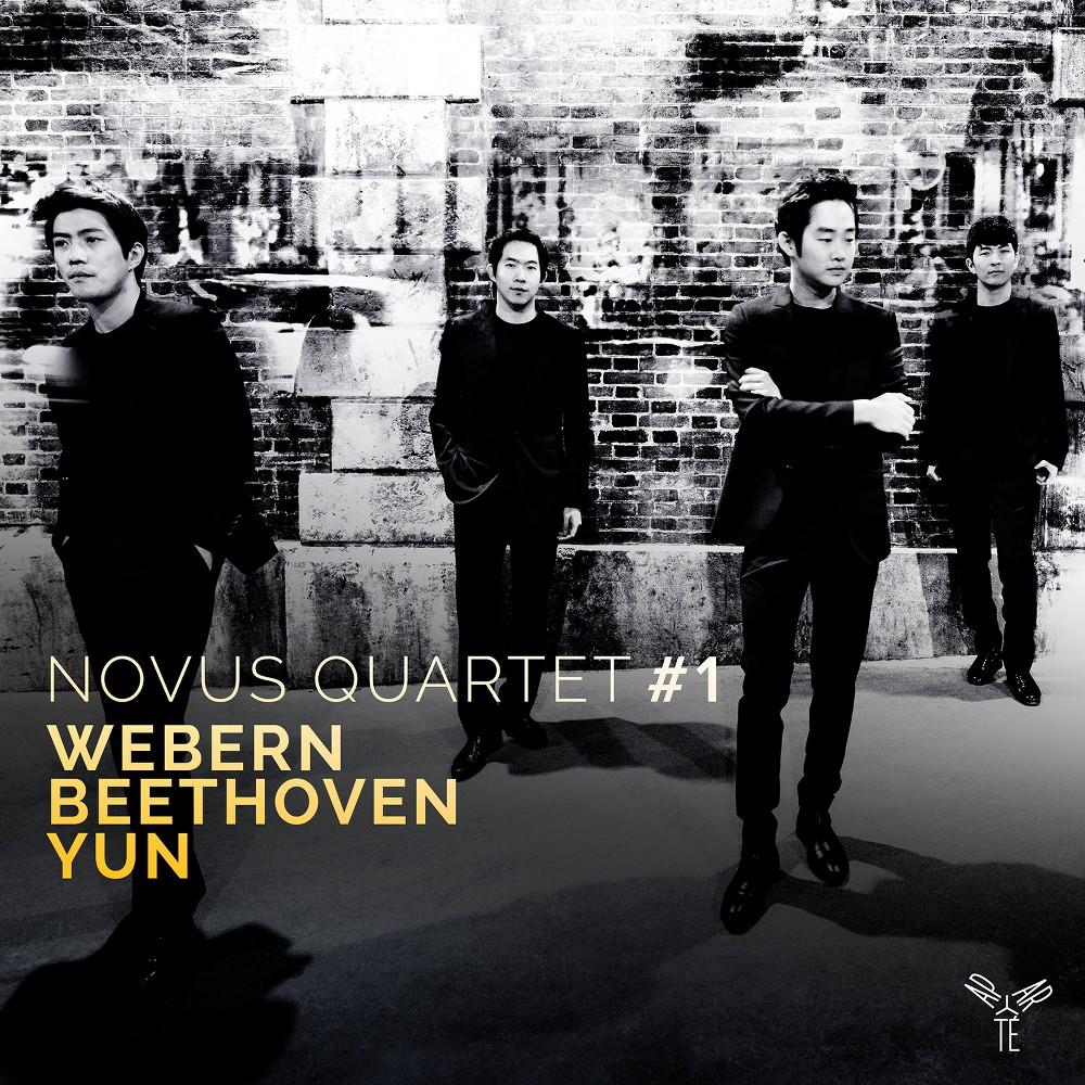 Novus Quartet - String Qts By Webern Beethoven & Yun (CD)