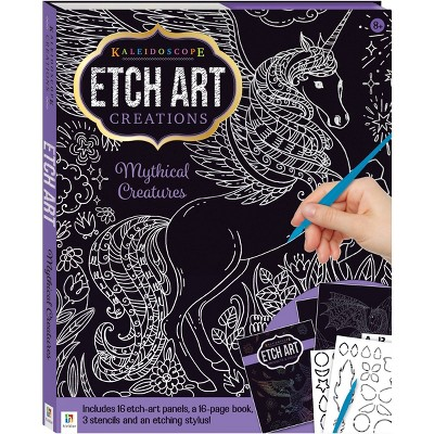 Kaleidoscope Etch Art Creations: Mythical Creatures - Hinkler Books
