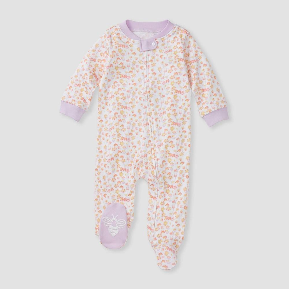 Burt 39 S Bees Baby 174 Baby Girls 39 Petal Rain Sleep N 39 Play Purple Newborn