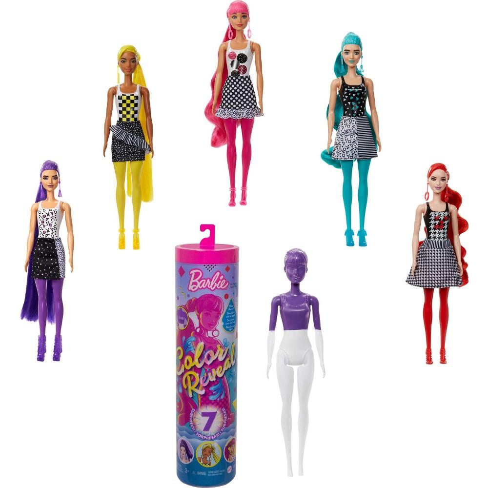 Barbie 160 Color 160 Reveal 160 Color Block Series Doll