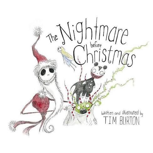 Nightmare Before Christmas (Hardcover) (Tim Burton) - image 1 of 1
