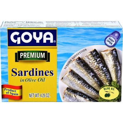 Goya Sardines in Olive Oil - 4.25oz