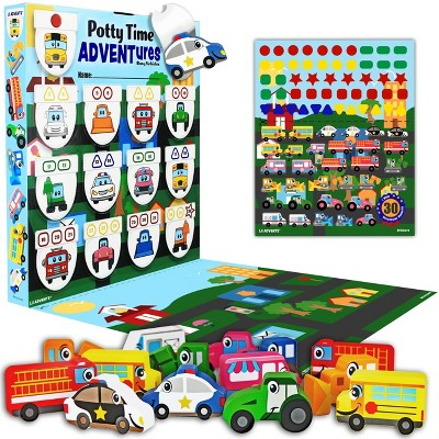 Lil Advents PottyTime Adventures Potty Training Toy - Busy Vehicles