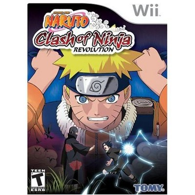 Naruto: Clash of Ninja Revolution WII