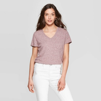 a6d06226 Women's Monterey Pocket V-Neck Relaxed Fit Short Sleeve T-Shirt - Universal  Thread™ : Target