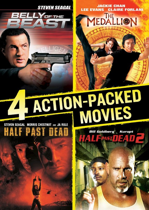 4 action packed movies collection (DVD) - image 1 of 1