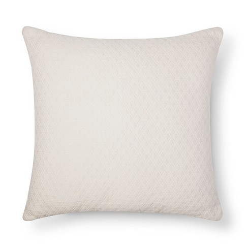 "Diamond Textured Throw Pillow (18""x18"") - Room Essentials™ - image 1 of 1"