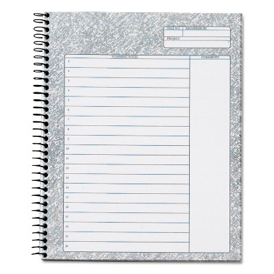 Tops Docket Gold and Noteworks Project Planners 6 3/4 x 8 1/2 63754