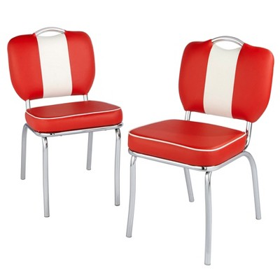 Set of 2 Raleigh Retro Dining Chairs - Buylateral