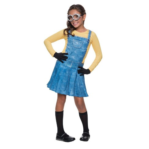 Girls' Minions Costume S - image 1 of 1