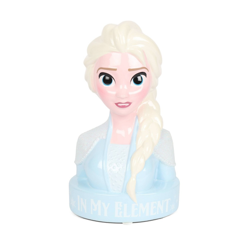 Image of Frozen 2 Elsa Coin Bank, Blue