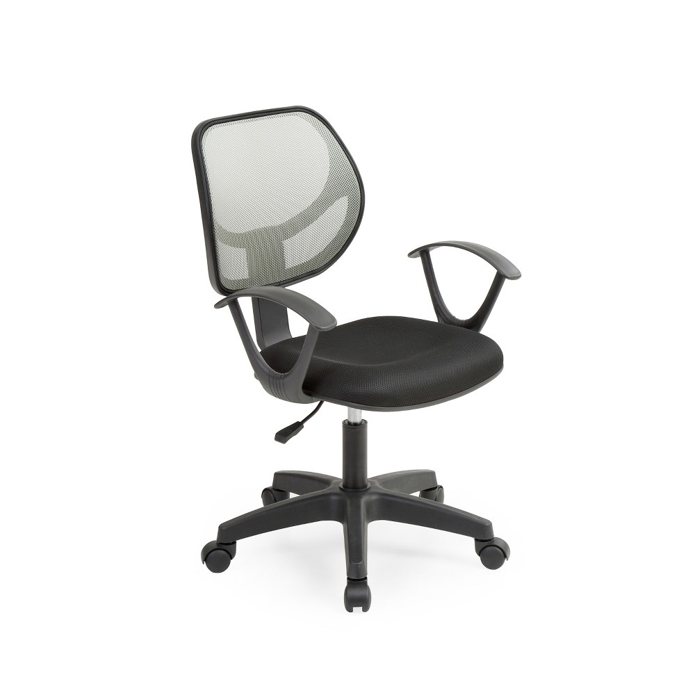 Image of Hodedah Import Office Chair - Gray