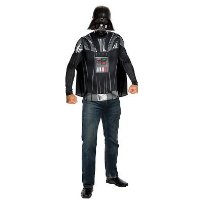 Adult Star Wars Darth Vader Top Cape Mask Halloween Costume