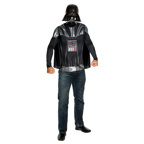 Star Wars Men's Darth Vader Top Cape Mask Costume - image 1 of 1