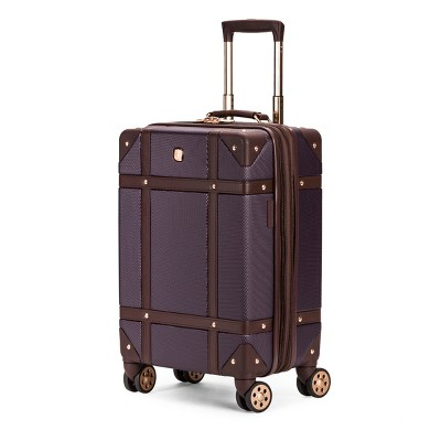 SWISSGEAR 19  Hardside Trunk Expandable Carry On Suitcase - Purple