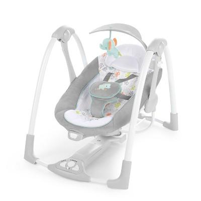 Ingenuity PowerAdapt ConvertMe Swing-2-Seat Portable Swing- Wimberly