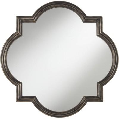 "Uttermost Oil-Rubbed Bronze 34"" Quatrefoil Wall Mirror"