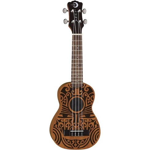 Luna Guitars Tribal Soprano Ukulele Satin Natural - image 1 of 1