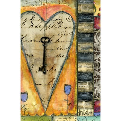 Artisan Classic Key to my Heart Lined Journal - LANG