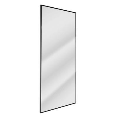 "25.5"" x 64"" Studio Float Leaner Mirror Black - Head West"