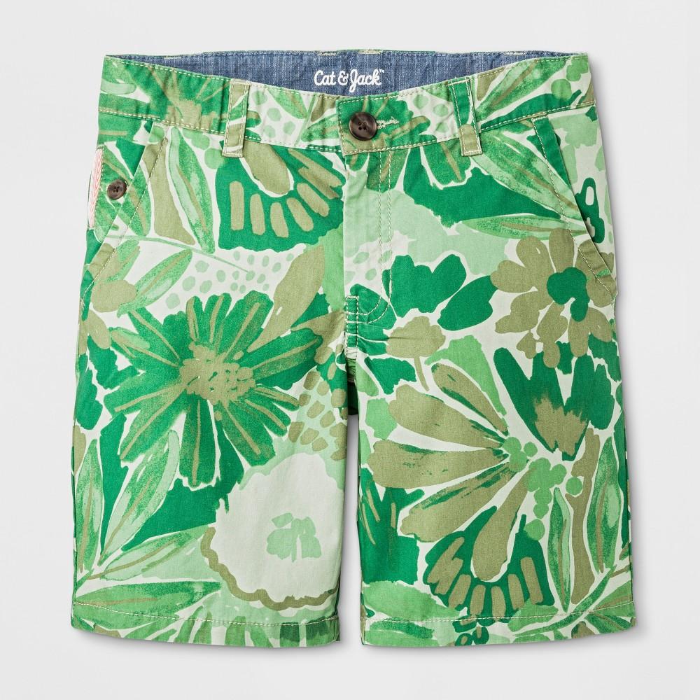 Boys' Chino Shorts - Cat & Jack Green 7