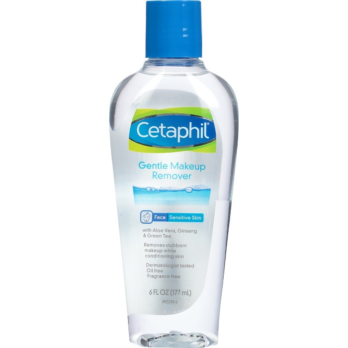 Cetaphil Gentle Waterproof Makeup Remover - 6oz : Target