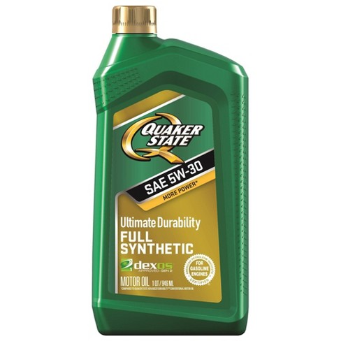 5W30 Synthetic Engine Oil - Quaker State - image 1 of 2