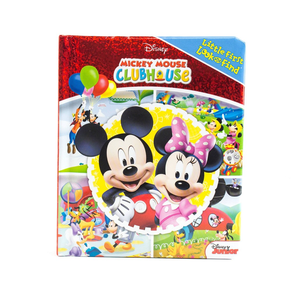 Little My First Look And Find Mickey Mouse Clubhouse Board Book