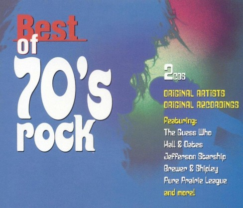 Various - Best of 70s rock (CD) - image 1 of 1