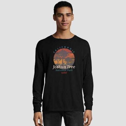 Hanes Men's Long Sleeve National Parks Service T-Shirt - image 1 of 3