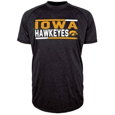 NCAA Iowa Hawkeyes Men's Short Sleeve Performance T-Shirt