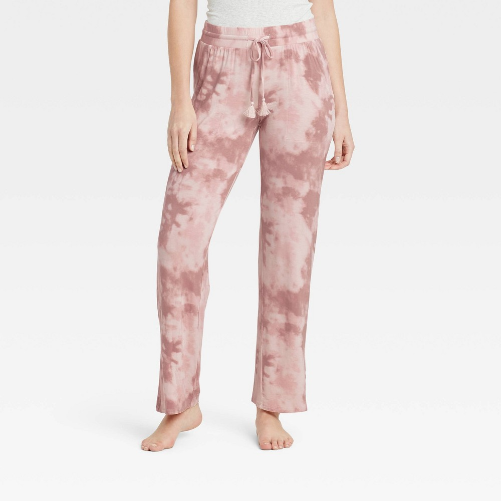 Women 39 S Tie Dye Beautifully Soft Pajama Pants Stars Above 8482 Pink L