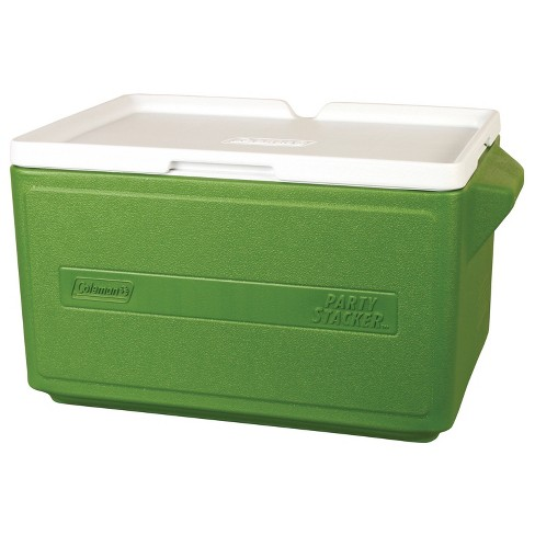 Coleman 48 Can Party Stacker Cooler - Green - image 1 of 3