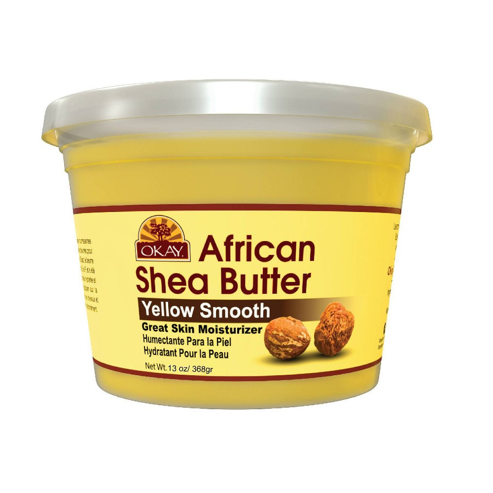 Image of OKAY African Shea Butter For Skin and Hair - 13oz
