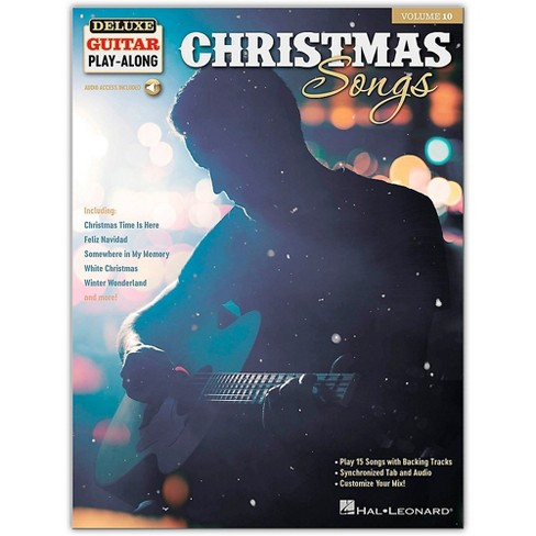 Hal Leonard Christmas Songs - Deluxe Guitar Play-Along Series Volume 10 Book/Audio Online - image 1 of 1