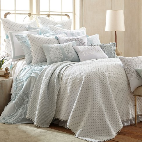 Astoria Spa Quilt And Pillow Sham Set Levtex Home Target