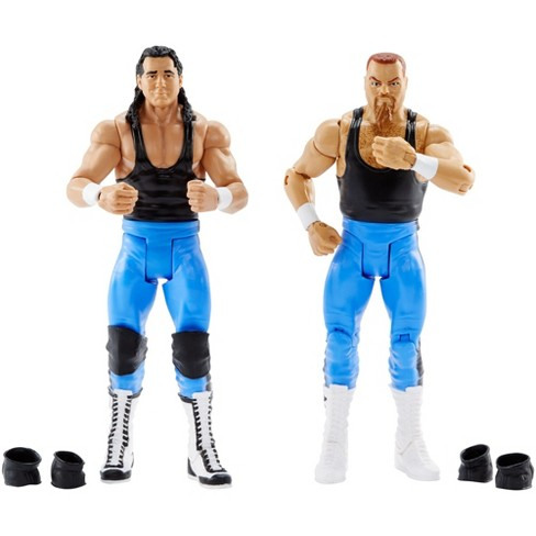 WWE Bret Hart and Jim Neidhard Action Figures 2pk - image 1 of 4