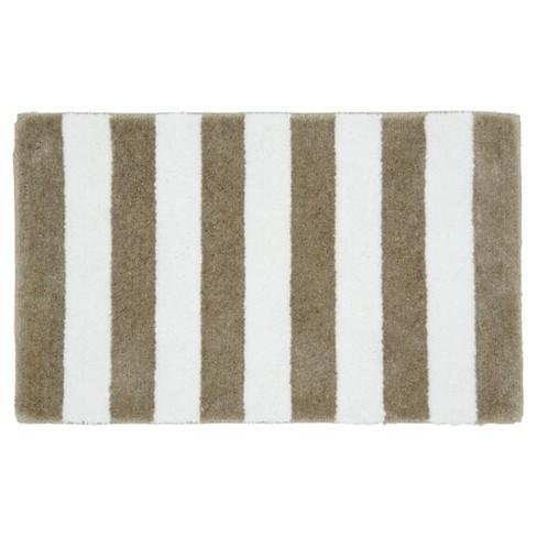 Beach Stripe Bath Rugs - Garland Rug®