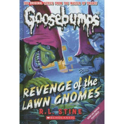 Revenge of the Lawn Gnomes - (Goosebumps (Pb Unnumbered)) by  R L Stine (Hardcover) - image 1 of 1