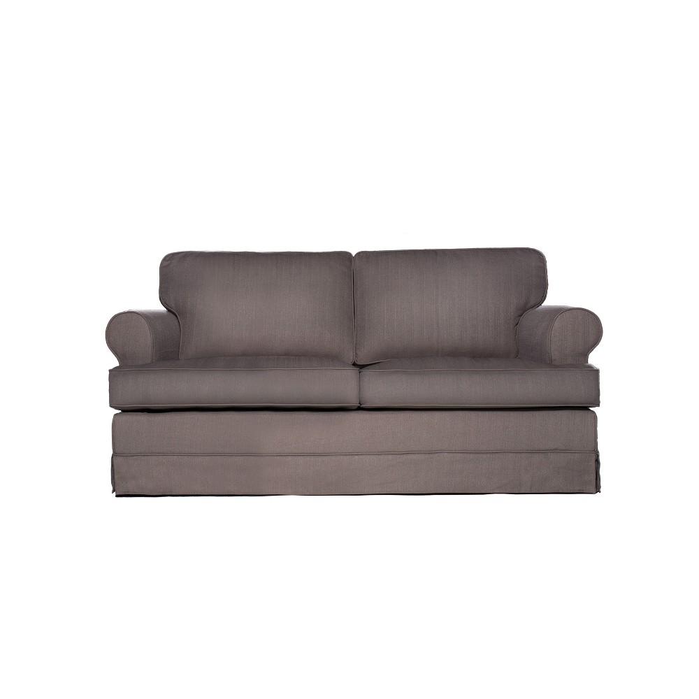 Everett Loveseat Gray - Sofas 2 Go